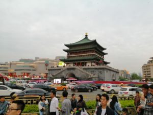西安の鐘楼