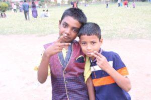 バングラデシュの子供