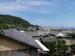 小豆島の街並み
