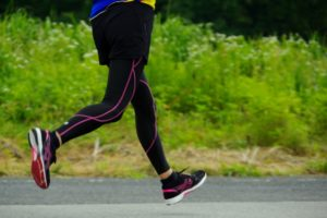 有酸素運動のランニング