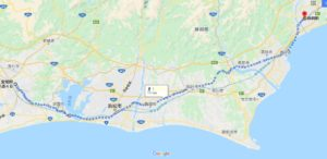 豊橋市から静岡駅まで